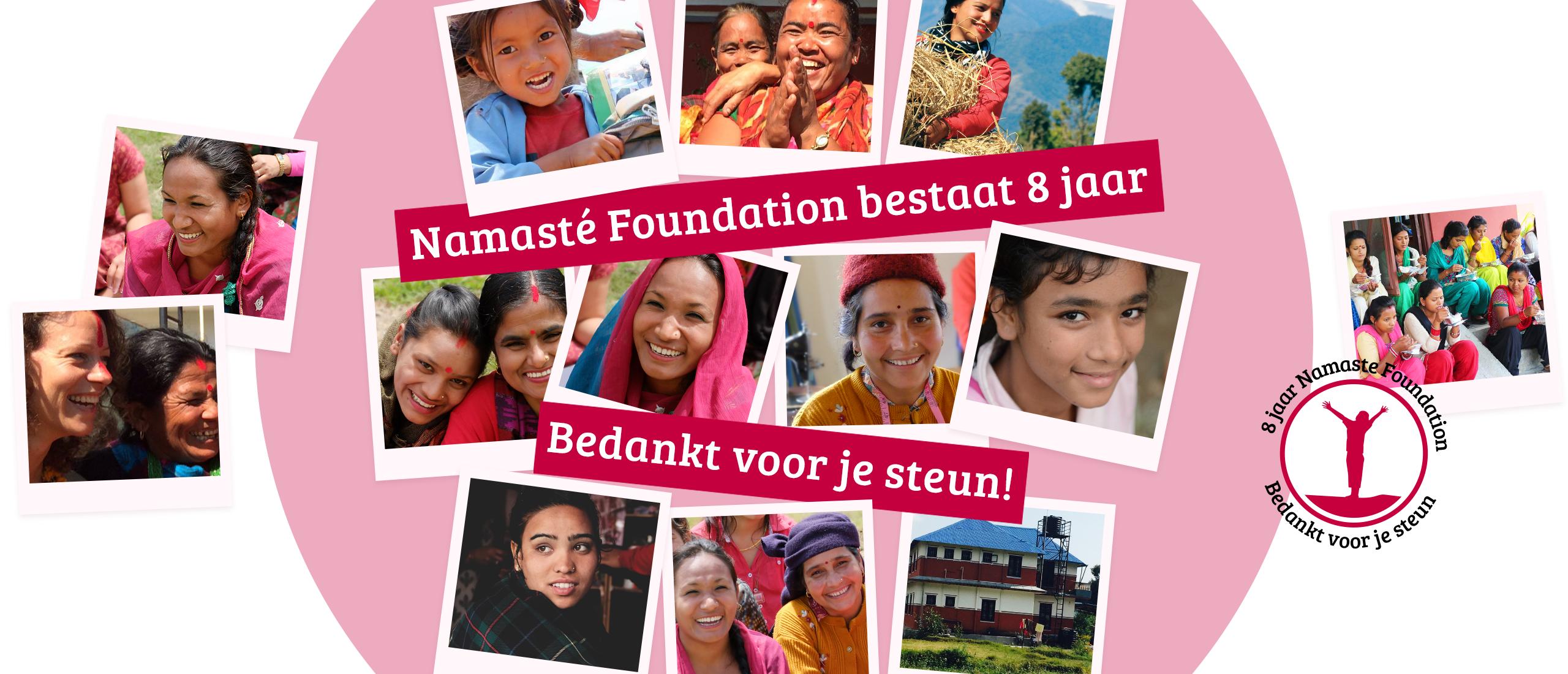 8 Jaar Namasté Foundation