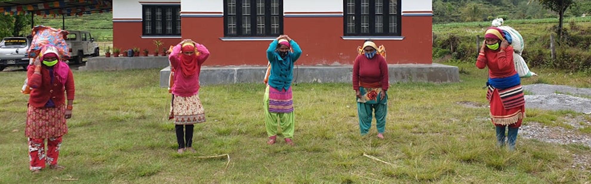 Een Namasté Groet Uit Nepal